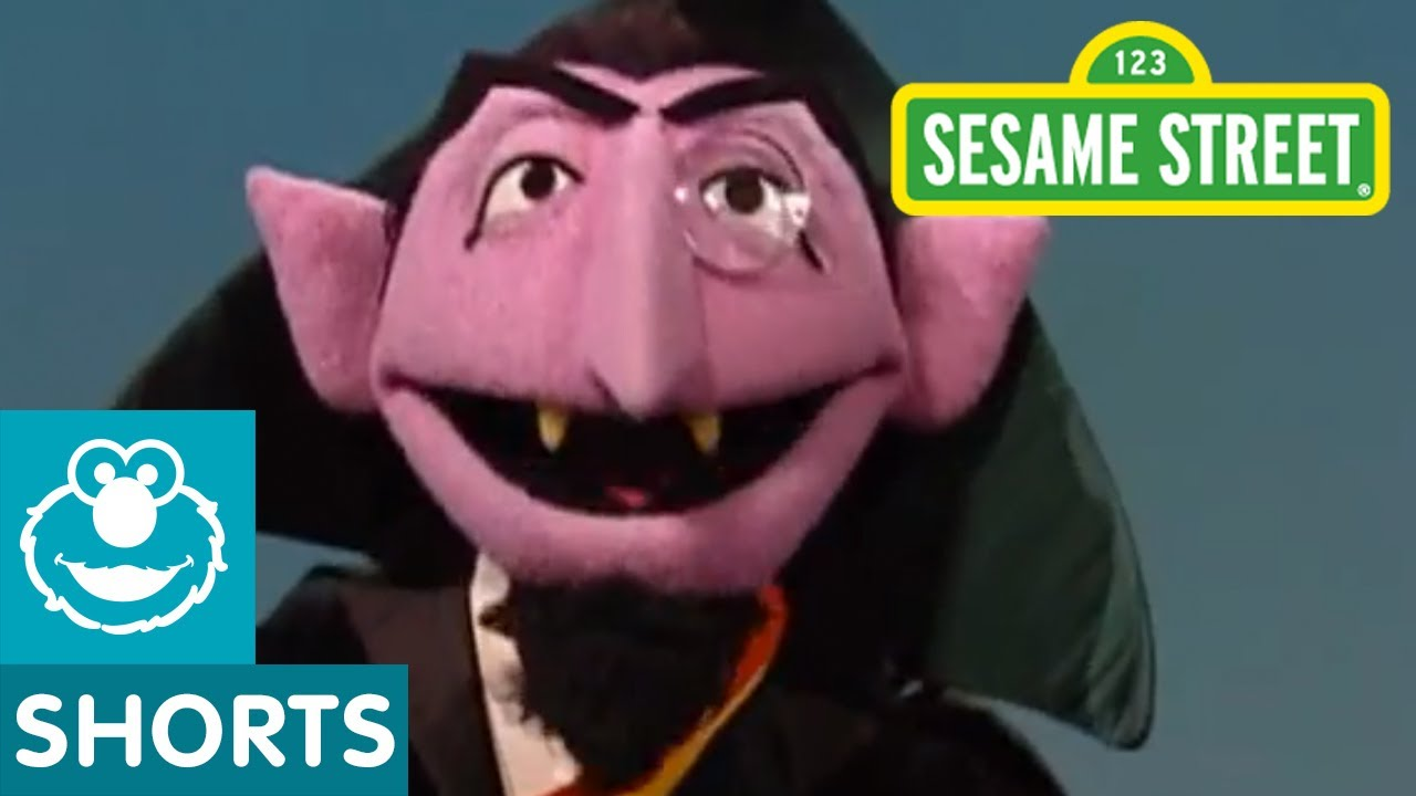 sesame street the count counts once more with feelings youtube