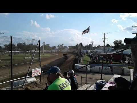 Fremont Speedway 410s Hot Laps 7/1/17