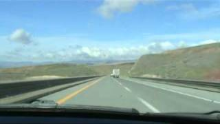 Elko West - I-80 Nevada Drivelapse