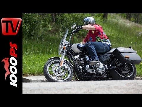 Testvideo | Harley-Davidson Superlow 1200T - Action, Sound, Fazit