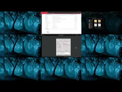 Fire window manager (both XServer and Wayland as Work In Progress)