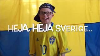 Max Hejar på Sverige mot Frankrike VM kval