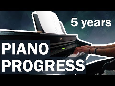 Teen/Adult Piano - 5 Year Progress