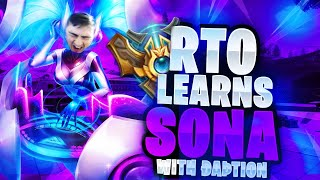 RTO Learns How to Play Sona Featuring ÐaÞtion | Patch 8.16