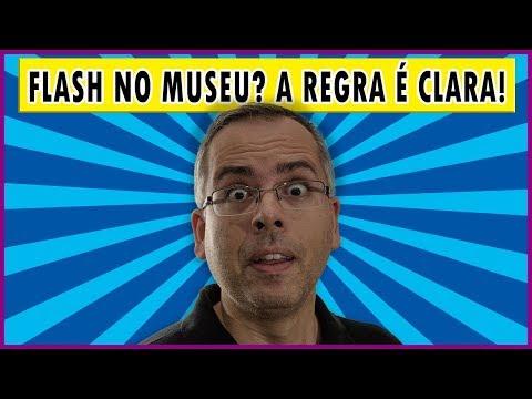 Por que é proibido usar flash no museu?
