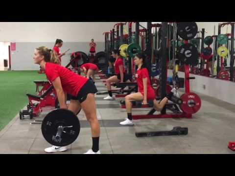 2016 Seattle University Volleyball Pre-Season Training
