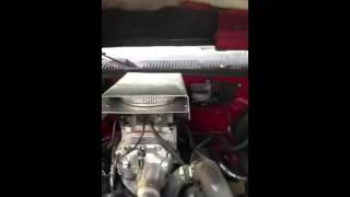 M90 Supercharger On Chevy 350