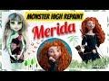 MAKING PRINCESS MERIDA DOLL - DISNEY BRAVE MONSTER HIGH REPAINT by Poppen Atelier