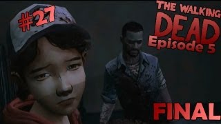 САМЫЙ ГРУСТНЫЙ ФИНАЛ - Walking Dead Episode 5 #27