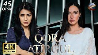 Qora atirgul (o'zbek serial) 45-qism | Кора атиргул (узбек сериал) 45-кисм