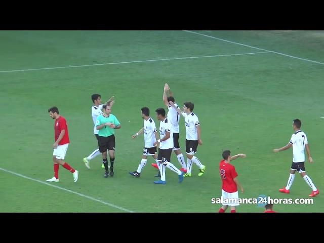 Resumen CF Salmantino UDS 7-0 Real Burgos