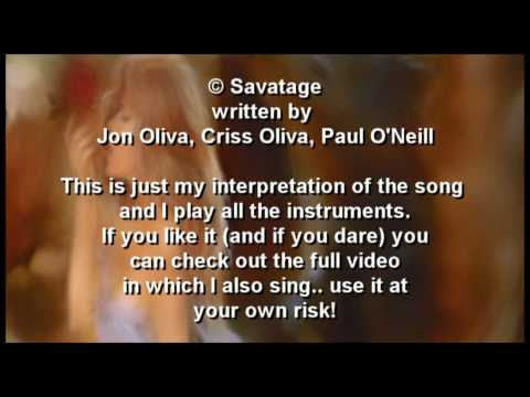 """""""All that I bleed"""" Instrumental (Savatage) performed by Forme"""