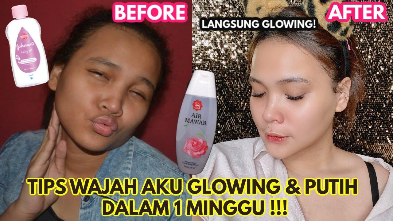 Cara Bikin Wajah Putih Glowing Permanen Dalam 1 Minggu Dinda Shafay Youtube