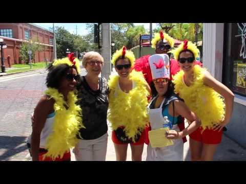 Tampa's Urban Chicken Race | Smokin' Hot Edition!