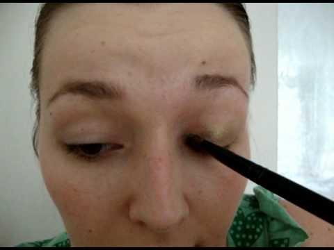 1 kleur oogschaduw aanbrengen - youtube