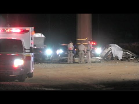 4 People Killed During Solo-Vehicle Crash In Patterson, California - News Story