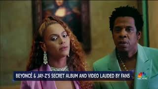 Press goes wild for Beyonce and Jay-Z