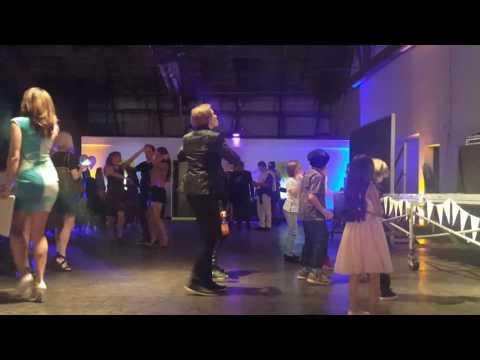 CJ VALLEROY IN HIS OWN LITTLE WORLD DANCIN' AWAY