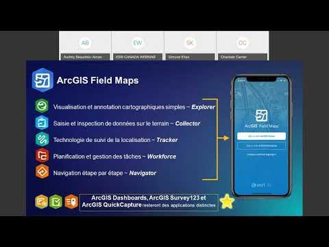 Découvrez ArcGIS Field Maps