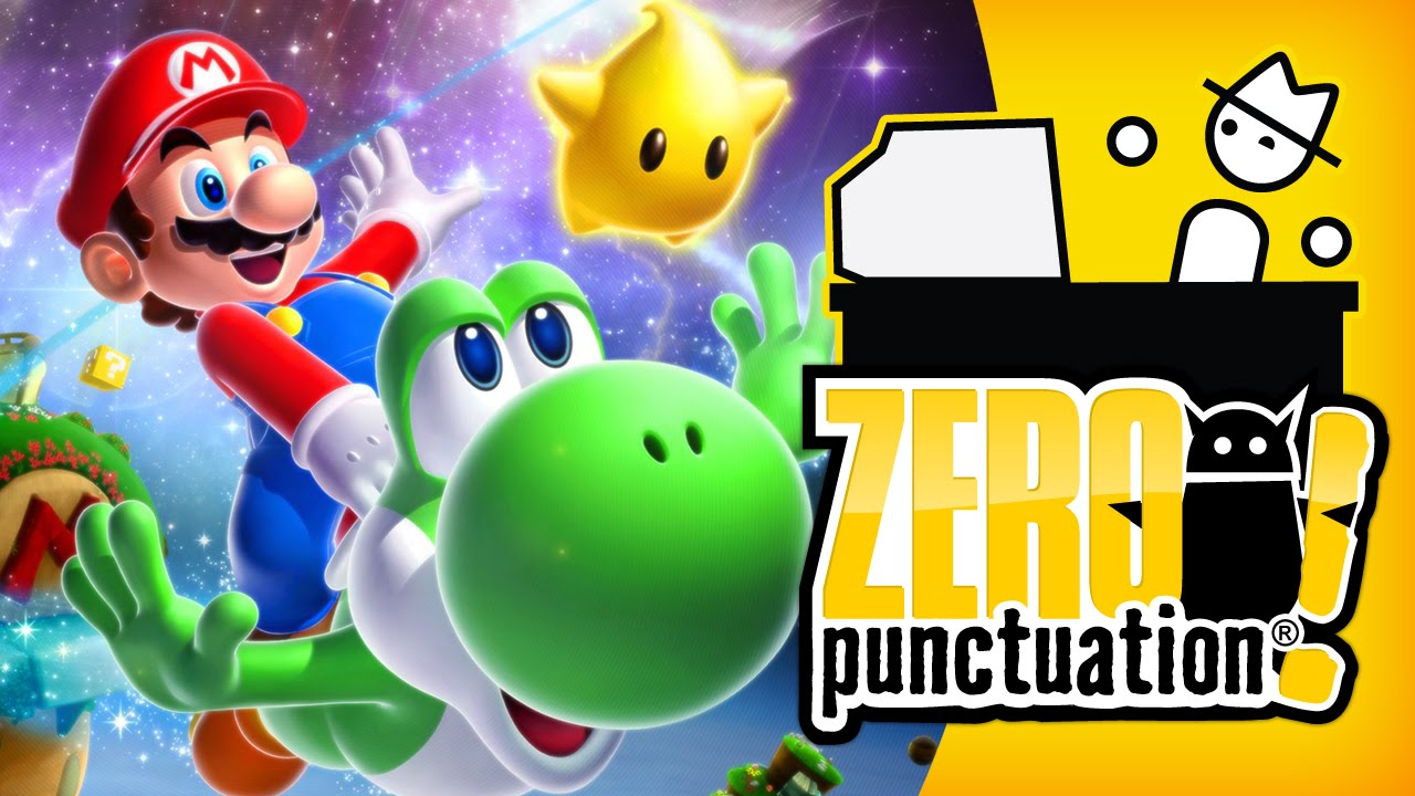 SUPER MARIO GALAXY 2 (Zero Punctuation) (Video Game Video Review)