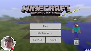 My Minecraft - Pocket Edition Stream