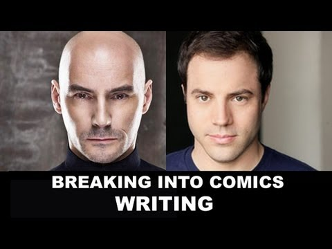 Writing Comics - How to Break into the Comic Book Industry with Brandon Montclare & Grace Randolph