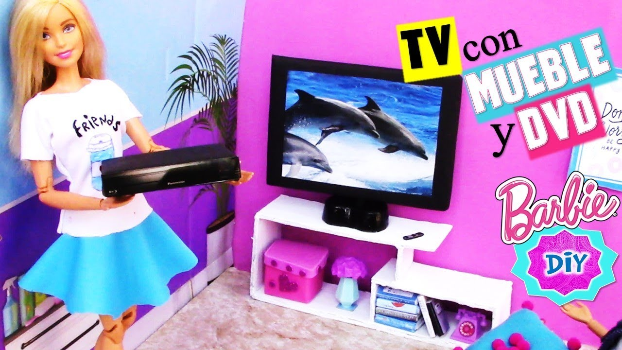 Casa de Muñecas en Miniatura sólo TV TV Pantalla Plana