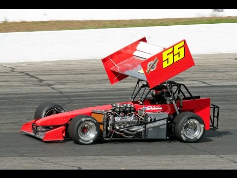 Mike Netishen ISMA Supermodified Thompson Speedway Sunoco World Series 10/19/2014