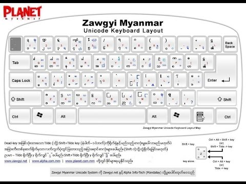 myanmar font free download windows 7