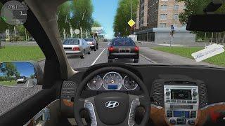 City Car Driving - Hyundai Santa Fe | Fast Driving