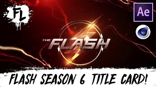 The Flash Season 6 Title Card Tutorial! | Film Learnin