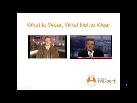 Media Training: What to Wear, What Not to Wear on TV