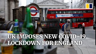 UK government imposes new Covid-19 lockdown for England