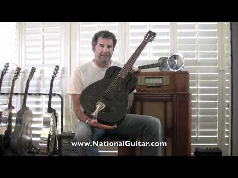 1935 National Duolian Resonator Guitar Demo