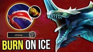 BURN ON ICE - Winter Wyvern Desolator MKB Carry Build 7.10 Dota 2   Upside Down 69