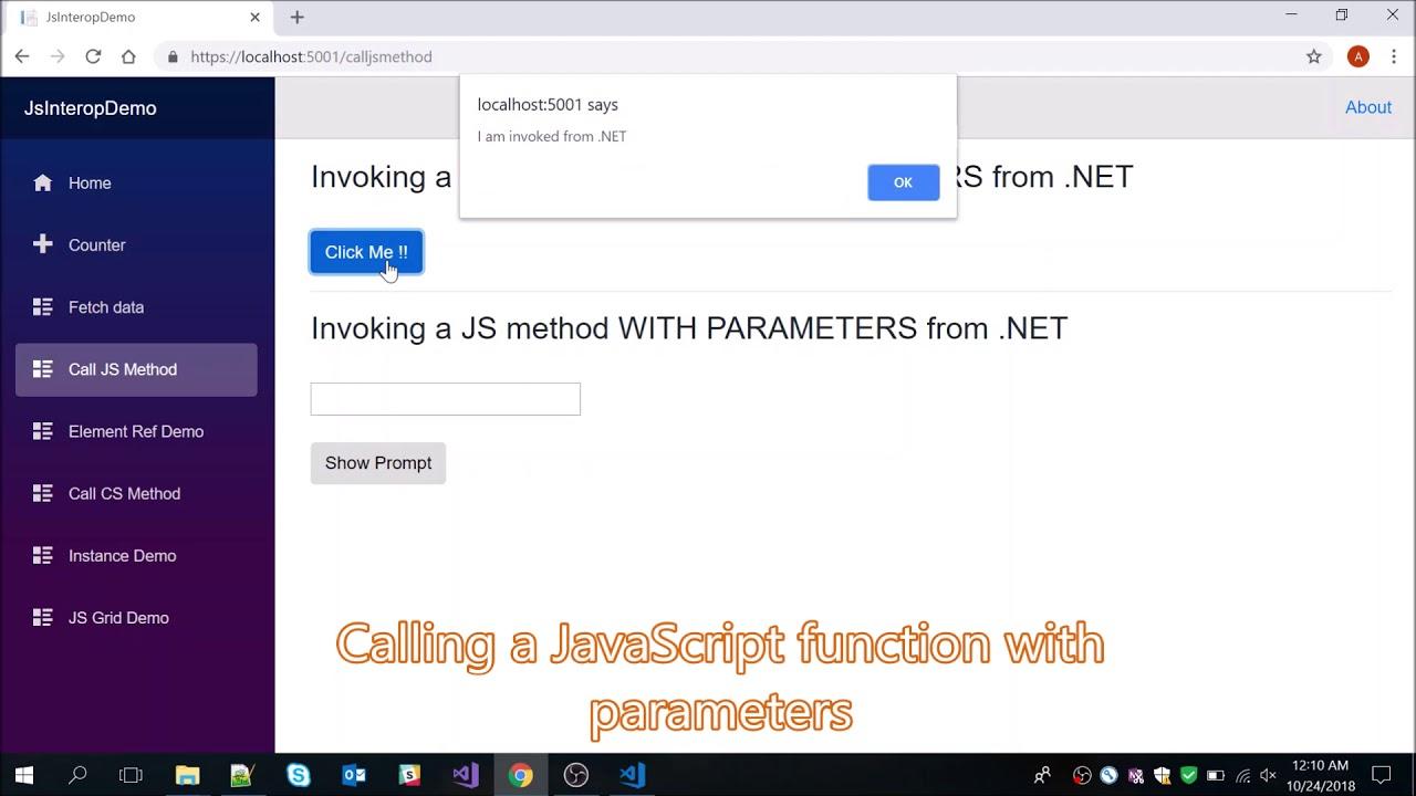 Blazor Quick Start Guide | 3  A Deep Dive into JavaScript Interop