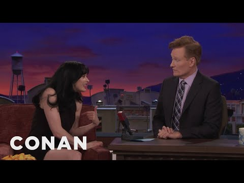 Conan Wrote Krysten Ritter's Webbys Acceptance Speech   CONAN on TBS