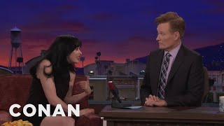 Conan Wrote Krysten Ritter's Webbys Acceptance Speech  - CONAN on TBS