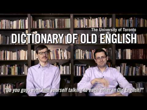 University of Toronto: The Dictionary of Old English