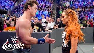 جون سينا يعود في سماكداون - WWE Wal3ooha, 3 January, 2019