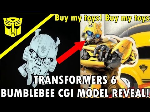 Bumblebee's New CGI Model For Transformers 6/ Bumblebee Movie Reveal