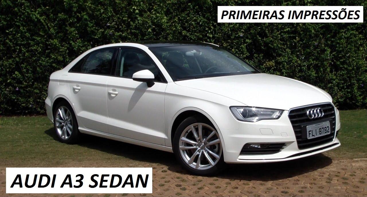 lançamento: audi a3 sedan - youtube