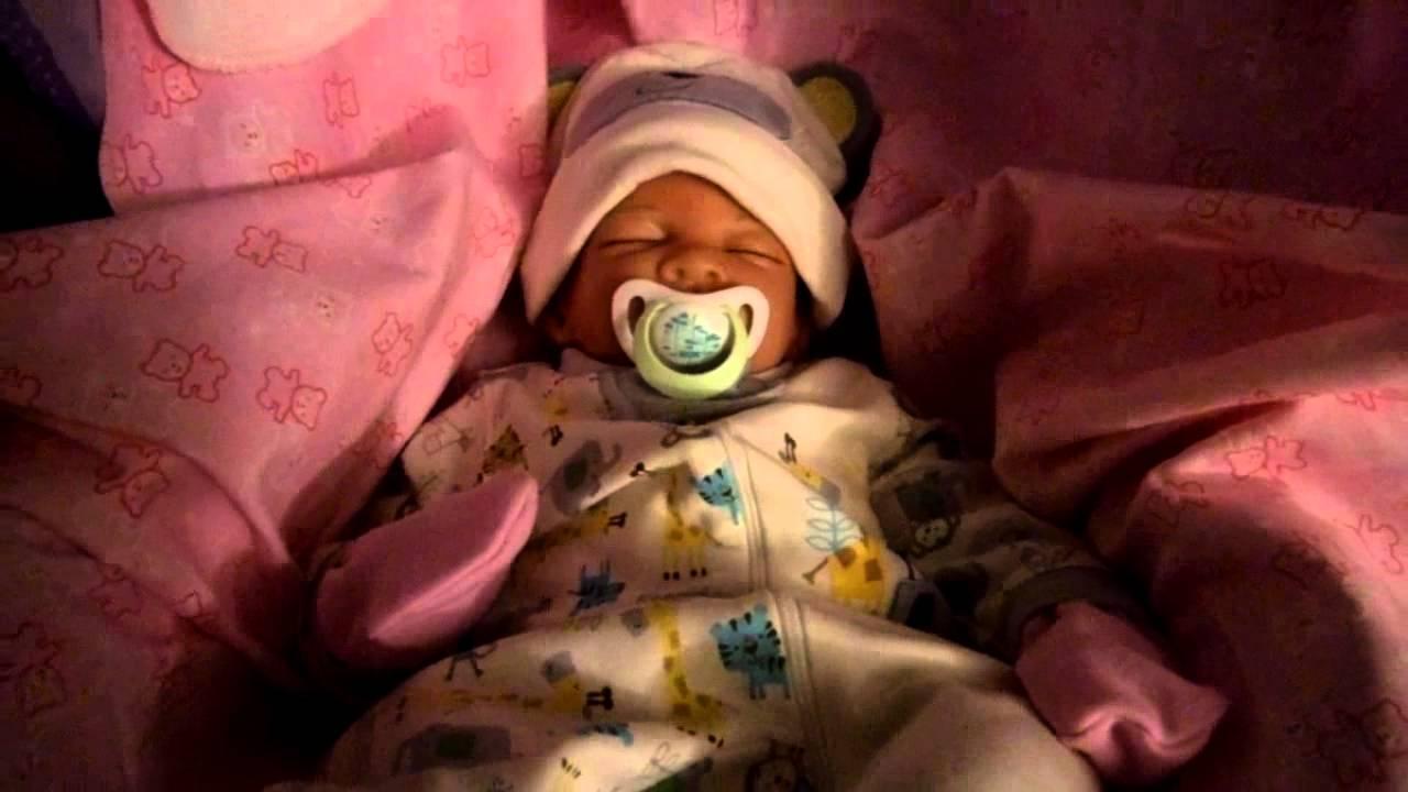 Ashton Drake Hush Little Baby In Her Sleeper Youtube