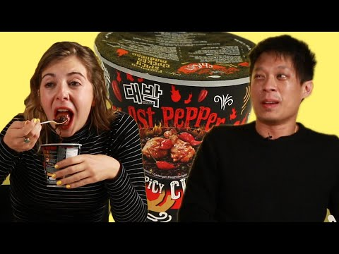We Try Malaysia's Spiciest Instant Noodle