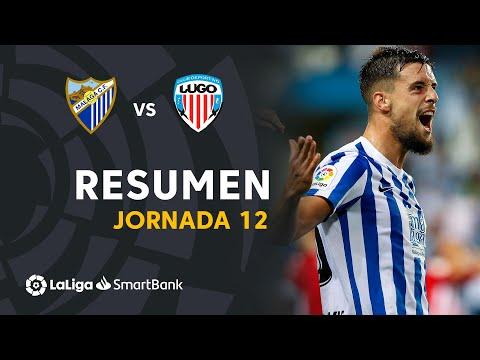 Malaga Lugo Goals And Highlights