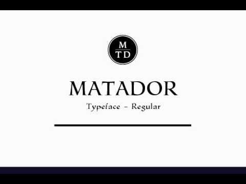 P22 Matador Font Download