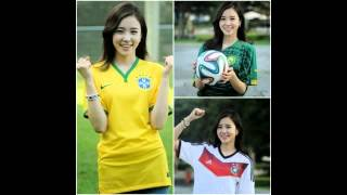 Korean World Cup journalist--new Internet darling