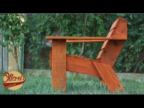 Make a Simple Outdoor Chair with Limited Tools –  DIY Pallet Wood Project