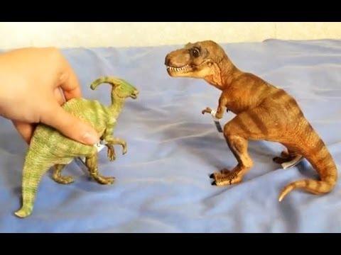 Jurassic Park Papo Parasaurolophus Review