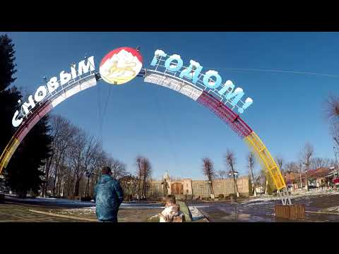 Владикавказ, Северная Осетия. Гуляем по Владикавказу. Город в объятиях гор.